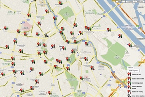 City Bike Vienna stationenplan